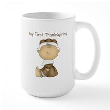 My First Thanksgiving - Girl Mugs