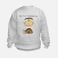 My First Thanksgiving - Girl Sweatshirt