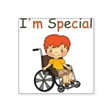 I'm Special - Wheelchair - Boy Sticker