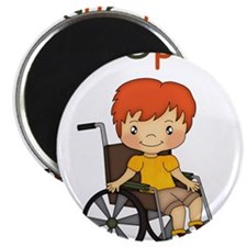 I'm Special - Wheelchair - Boy Magnets