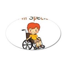 I'm Special - Wheelchair - Boy Wall Decal