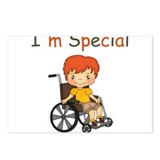 I'm Special - Wheelchair - Boy Postcards (Package