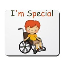 I'm Special - Wheelchair - Boy Mousepad