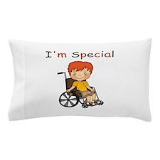 I'm Special - Wheelchair - Boy Pillow Case