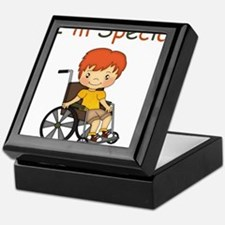I'm Special - Wheelchair - Boy Keepsake Box