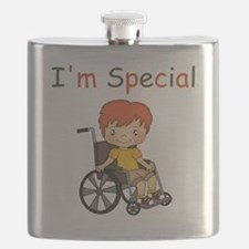 I'm Special - Wheelchair - Boy Flask