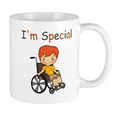 I'm Special - Wheelchair - Boy Mugs