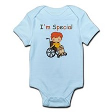 I'm Special - Wheelchair - Boy Body Suit