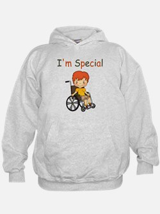 I'm Special - Wheelchair - Boy Hoodie