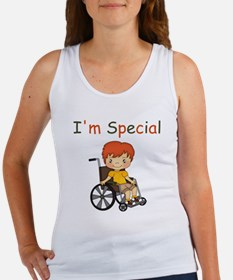 I'm Special - Wheelchair - Boy Tank Top