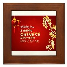 chinese new year Framed Tile