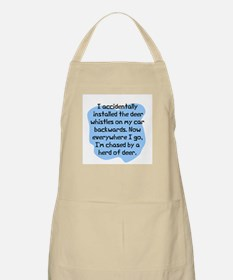 Accidentally installed BBQ Apron