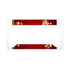 chinese new year License Plate Holder