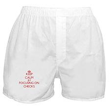 Checks Boxer Shorts