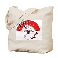 chinese fan Tote Bag
