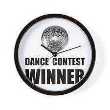 Dance Contest Winner Wall Clock