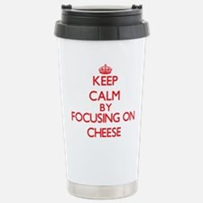Cheese Stainless Steel Travel Mug