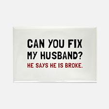 Fix Husband Broke Magnets
