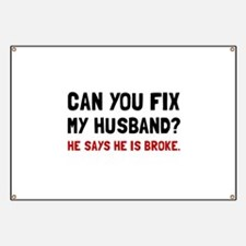 Fix Husband Broke Banner