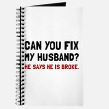 Fix Husband Broke Journal