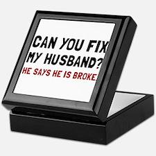 Fix Husband Broke Keepsake Box