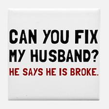 Fix Husband Broke Tile Coaster