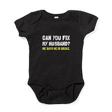 Fix Husband Broke Baby Bodysuit