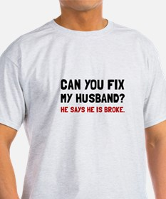Fix Husband Broke T-Shirt