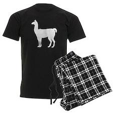 Llama Silhouette Pajamas