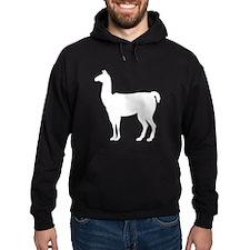 Llama Silhouette Hoodie