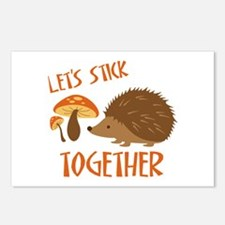 Let's Stick Together Postcards (Package of 8)