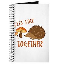 Let's Stick Together Journal