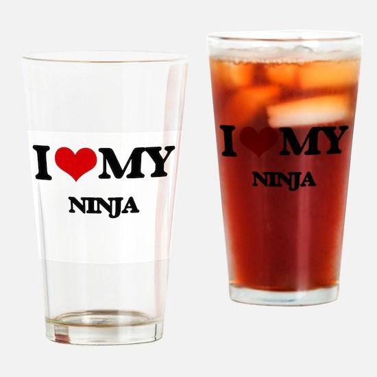 I love my Ninja Drinking Glass