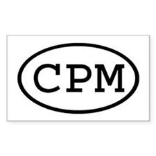 CPM Oval Rectangle Decal