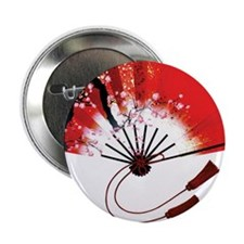 """chinese fan 2.25"""" Button (10 pack)"""