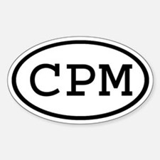 CPM Oval Oval Decal