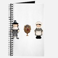 Thanksgiving - Pilgrim and Turkey Journal