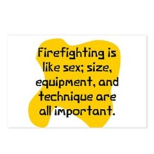 Firefighting matters Postcards (Package of 8)