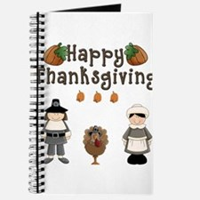 Happy Thanksgiving Pilgrims and Turkey Journal