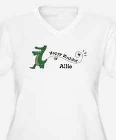 Happy Birthday Allie (gator) T-Shirt