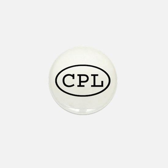 CPL Oval Mini Button