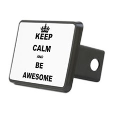 KEEP CALM AND BE AWESOME Hitch Cover