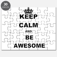 KEEP CALM AND BE AWESOME Puzzle