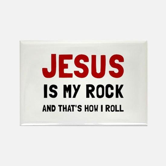 Jesus Rock Roll Magnets