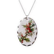 Holly and berries Necklace
