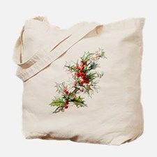 Holly and berries Tote Bag