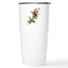 Holly and berries Travel Mug