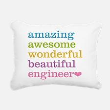 Amazing Engineer Rectangular Canvas Pillow