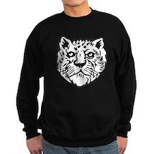 Leopard Face Silhouette Sweatshirt