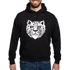Leopard Face Silhouette Hoodie